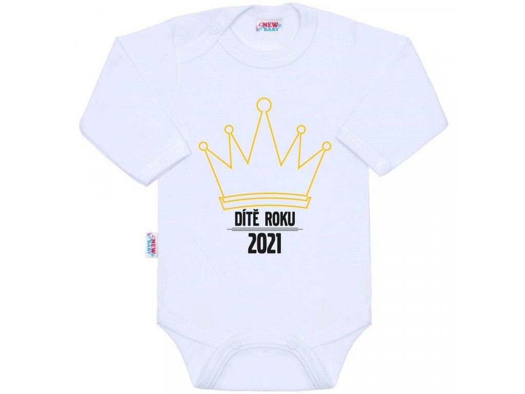 Body s potiskem New Baby Dítě roku 2021
