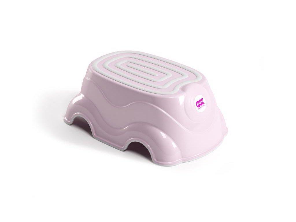 Schůdek univerzální Herbie světle růžová 54
