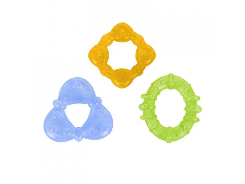 Kousátko plněné vodou - 3 tvary, 3m+