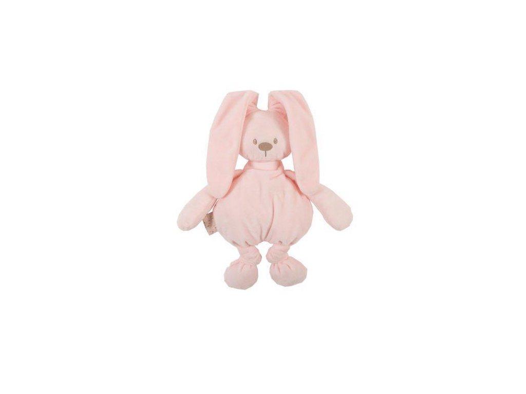 Hračka plyšová zajíček Lapidou cuddly pink 36 cm