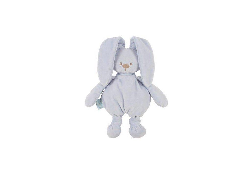 Hračka plyšová zajíček Lapidou cuddly blue 36 cm
