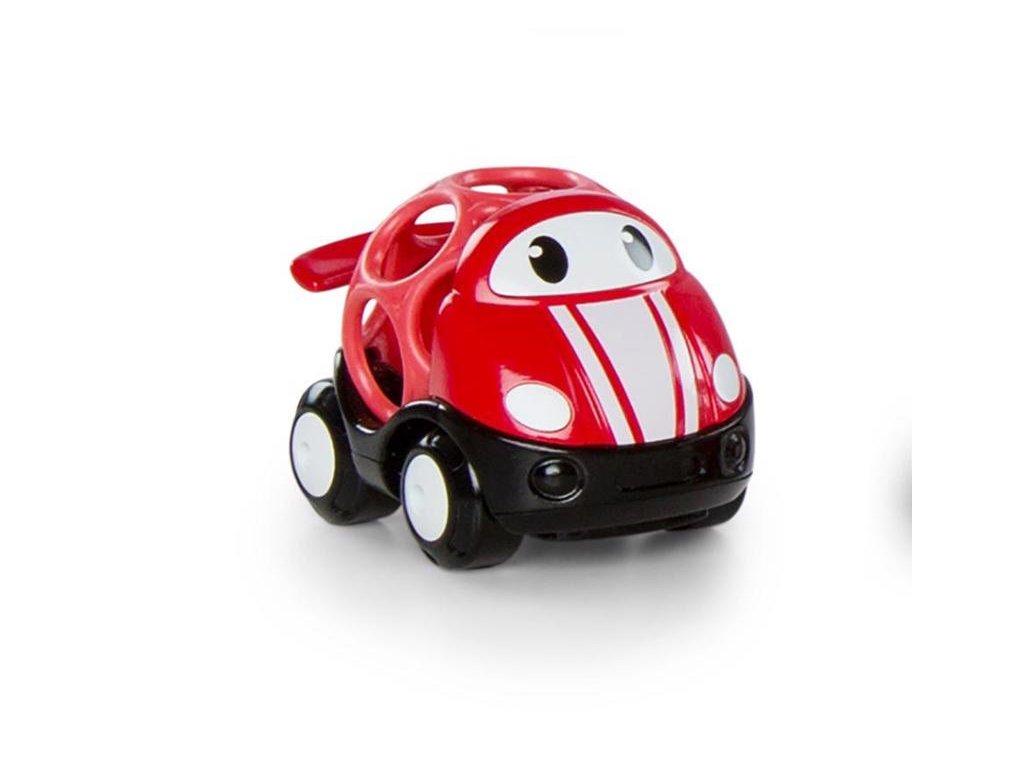 Hračka autíčko závodní Jack Oball Go Grippers červené 18m+