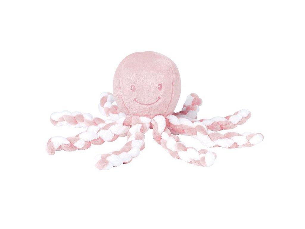 První hračka miminka chobotnička PIU PIU Lapidou light pink 0m +