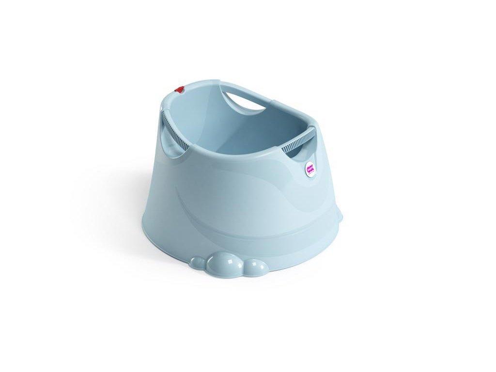 Vanička do sprchovacího koutu Opla světle modrá 55