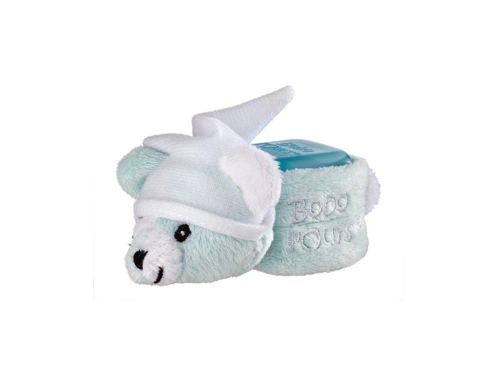 ALPHANOVA SANTE S.A.R.L. Bobo chladící medvídek Blue