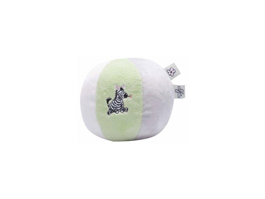Bebe-Jou Šustící plyšový balón Bébé-Jou Dinky Zebra