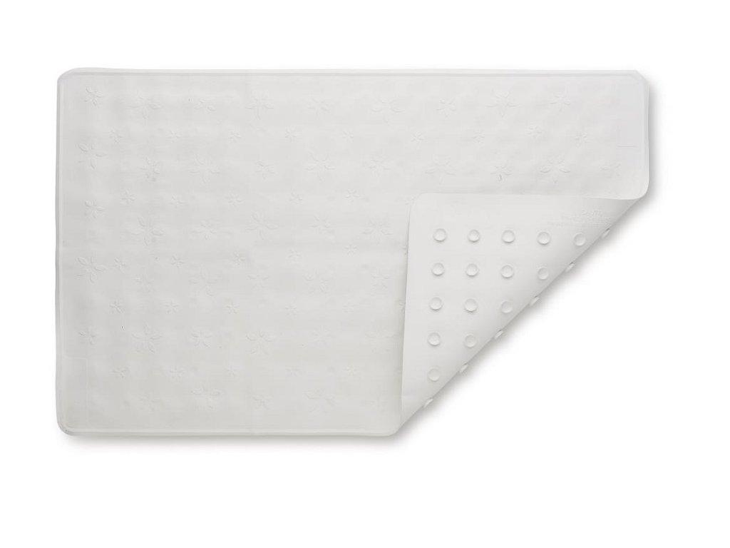Baby Dan Protiskluzová podložka do vany bílá 35x55cm