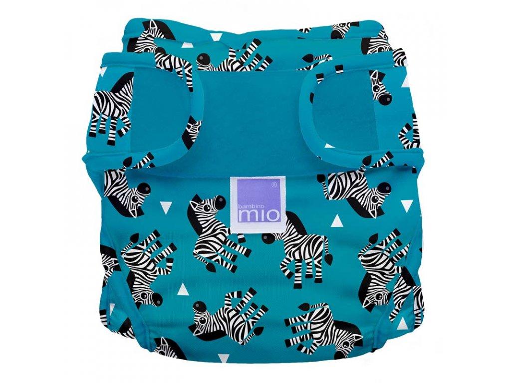 Bambino Mio Miosoft plenkové kalhotky Zebra Crossing vel. 1