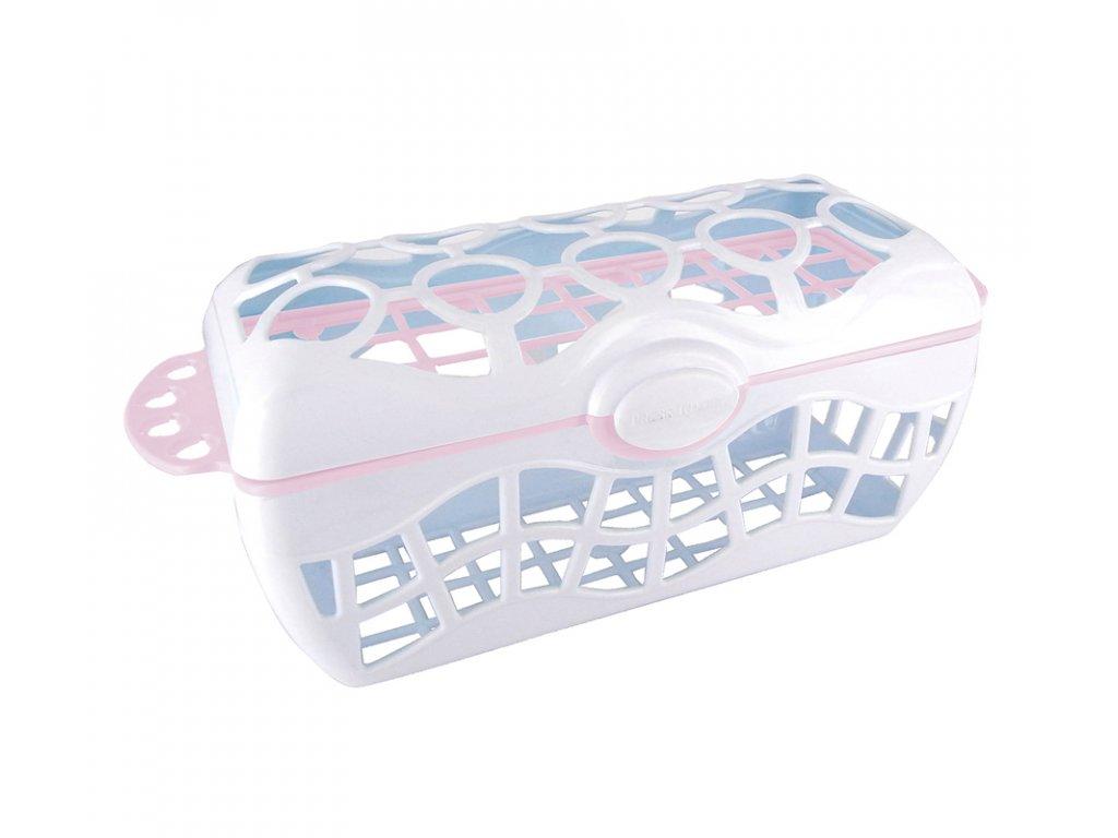 dBb Remond dBb Košík do myčky na kojenecké láhve, růžový