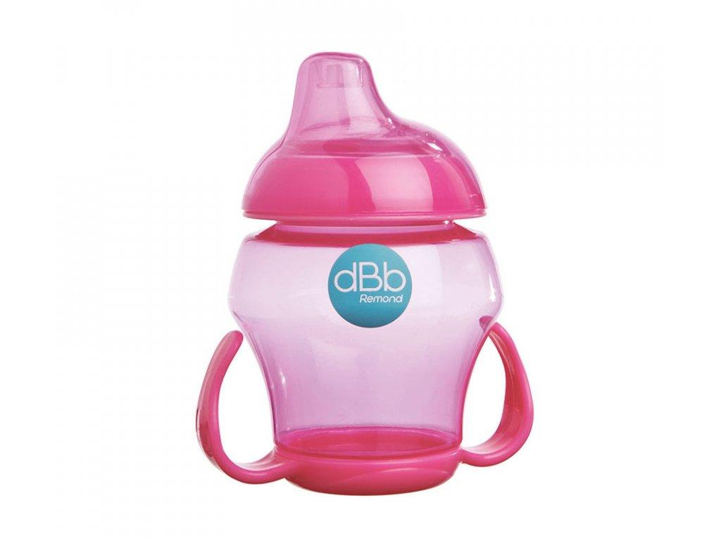 dBb Remond dBb Baby pohárek, 250 ml, Růžová