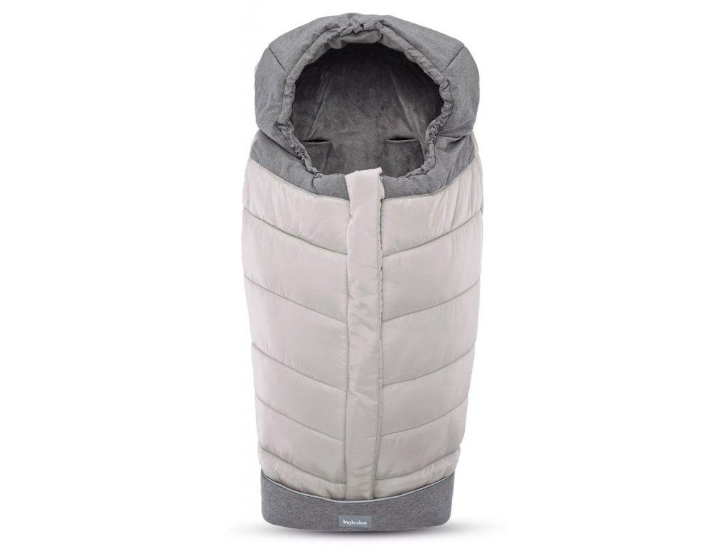 Inglesina Fusak Winter Muff silver pro kombinovaný/Sportovní kočárek