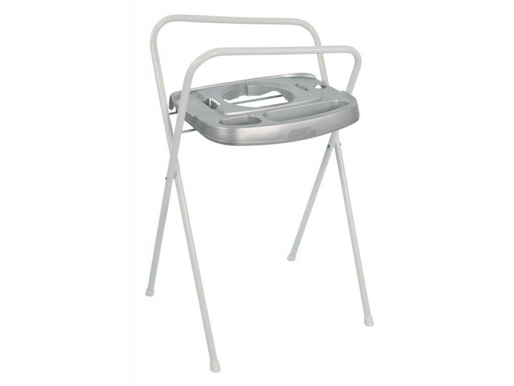 Bebe-Jou Kovový stojan Click na vaničku Bébé-Jou 103cm Silver