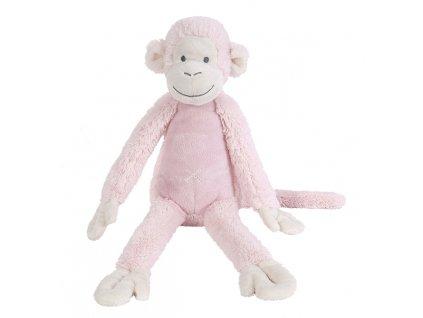 HAPPY HORSE | Opička Mickey růžová no.2 Velikost: 43 cm