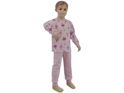 ESITO Dívčí pyžamo baletka vel. 80 - 110 - baletka růžová / 86