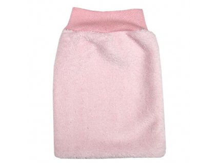 Babyrenka dětská žínka Polar 16x27 cm velká růžová
