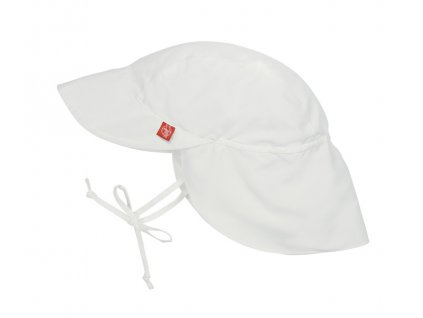 Sun Protection Flap Hat white 06-18 mo.