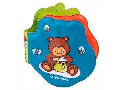 Canpol babies Měkká knížka pískací vybarvovací medvíci 2/084