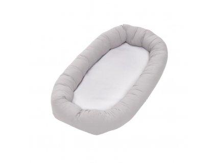 Baby Dan hnízdečko Cuddle Nest, Light Grey