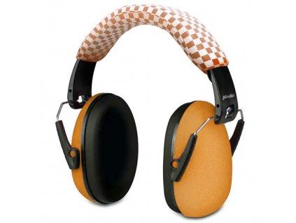 Ochranná sluchátka pro dítě, orange BV-71