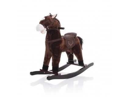 Houpací kůň tmavě hnědý TWINKIE