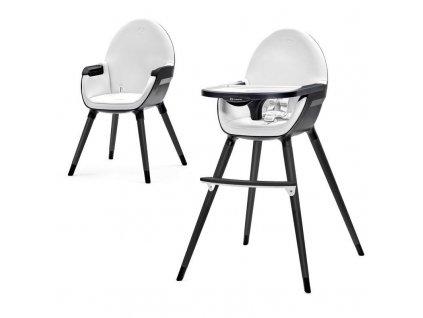 Židlička jídelní FINI black Kinderkraft