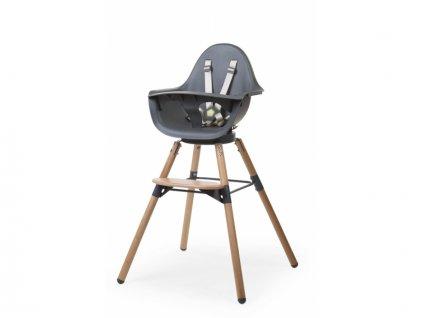 Židlička 2v1 Evolu ONE.80° Natural / Anthracite