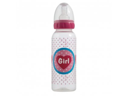 Bebe-Jou Lahvička Bébé-Jou Girl 250 ml