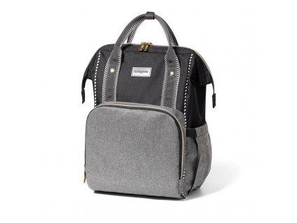 Taška přebalovací/batoh Oslo Style černá