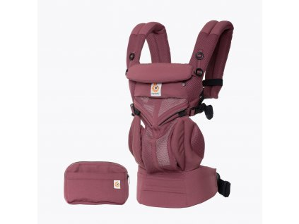 Ergobaby OMNI 360 COOL AIR MESH - Plum