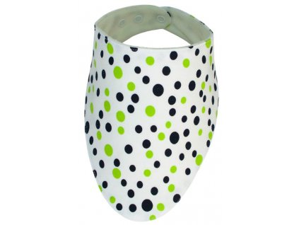ESITO Slintáček bavlna puntík - puntík zelená / universal ESSLIBAVPUN