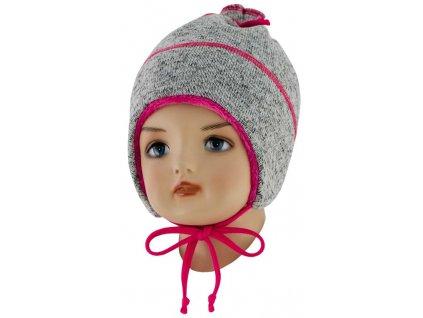 ESITO Dětská zimní čepice Oliver - malinová / XS