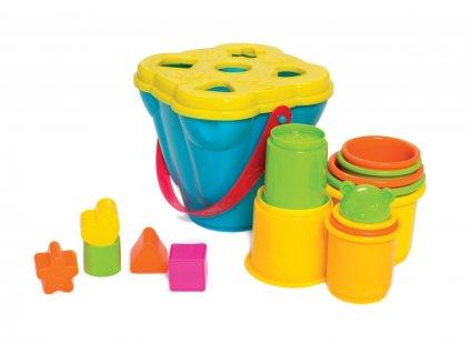 Playgro - Kyblík s vkládackou