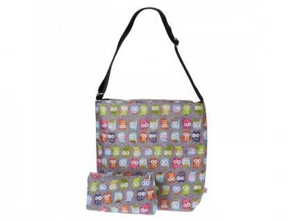 My Bags - Taška na kočárek se sovičkami