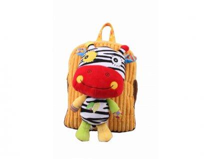 Discovery baby - Batůžek do školky s hračkou Oslík