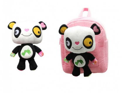 Discovery baby - Batužek do školky s hrackou Panda