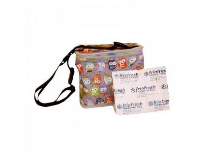 My Bags - Chladící taška se sovičkami