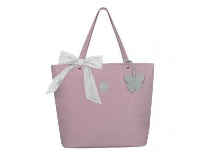 Beztroska Matylda taška s mašlí sticky pink