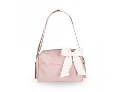 Beztroska Maja taška s mašlí pink powder