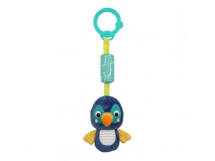 Hračka plyšová chrastítko na C kroužku Chime Along Friends tukan 0m+