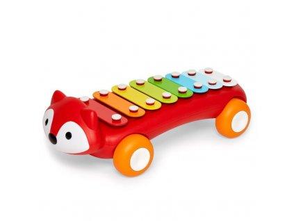 Hračka xylofon Explore&More - Lišák 12m+