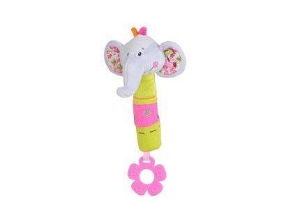 Hračka pískací - Slon