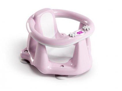 Sedátko do vany Flipper Evolution světle růžová 54