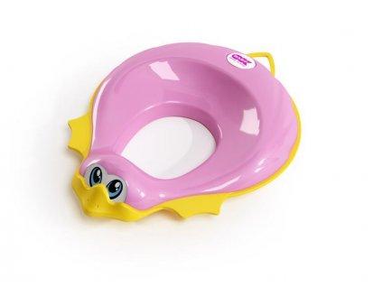 Redukce na WC Ducka růžová 66