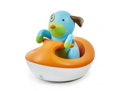 Zoo hračka do vody - Pejsek na vodním skútru 12m+