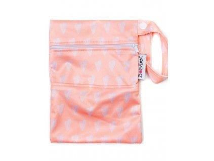 Bobánek Mini taštička - Růžová se srdíčky