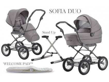 Inglesina Sofia Duo Ergo Bike 2020 STONE GREY
