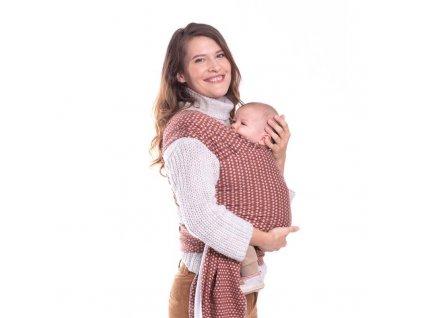 Nosič dětí / šátek Boba Wrap Print Hali