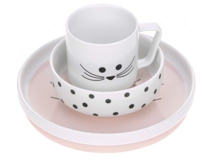 Dish Set Porcelain Little Chums mouse