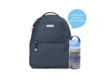 Taška přebalovací / batoh Go Envi Eco-Friendly Grey Blue Hex