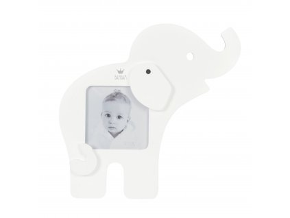 Sloník na fotku - Bílý